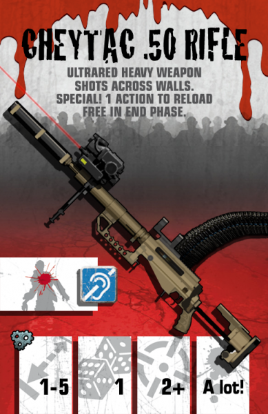 Community card: CheyTac .50 Rifle