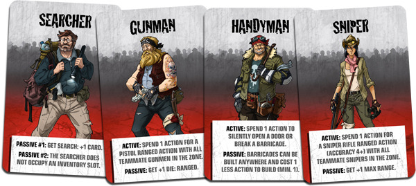 [Angry Neighbors] Survivor's IDs for Human Companions