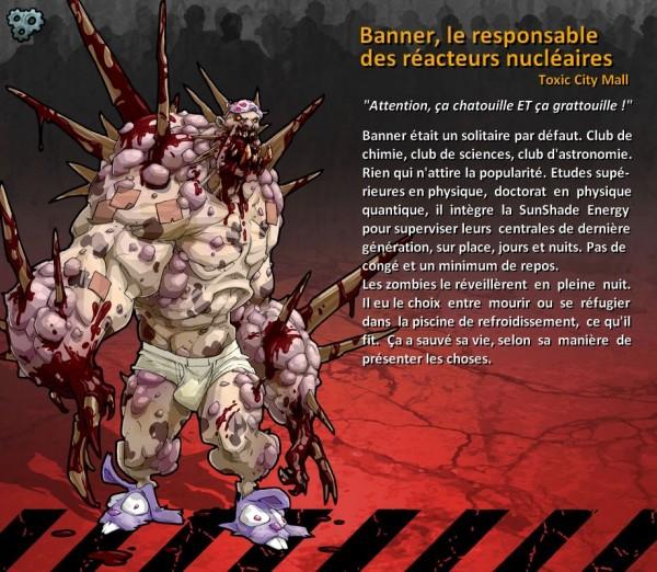 Banner, le Responsable des réacteurs nucléaires