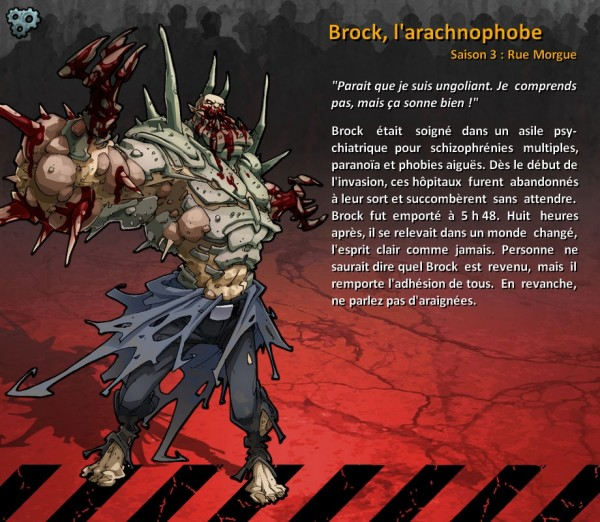 Brock, l'Arachnophobe