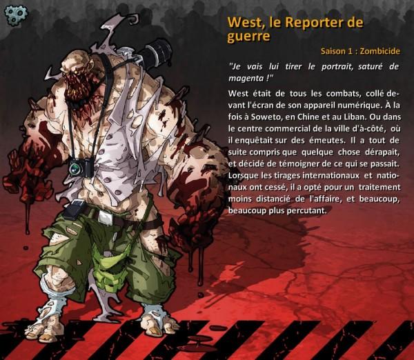 West, le Reporter de guerre