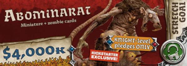 Kickstarter Black Plague : Les Objectifs