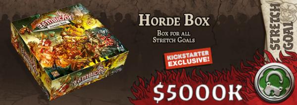 Kickstarter Green Horde! : Les Bonus