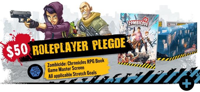 Kickstarter Zombicide Second Edition : Les Options