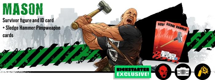 Kickstarter Zombicide Second Edition : Les Bonus